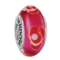 Pandora Zilver Murano glas 79647